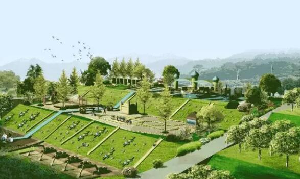 田园综合体是集现代农业、休闲旅游